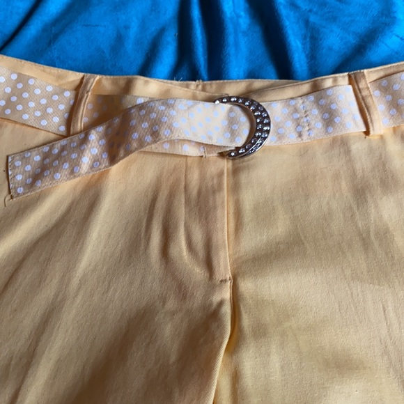SOLD  NOT FOR SALE yellow Capris
